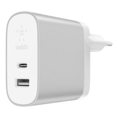 Belkin BOOST-CHARGE 27-W-USB-C und 12-W-USB-A-Netzladegerät